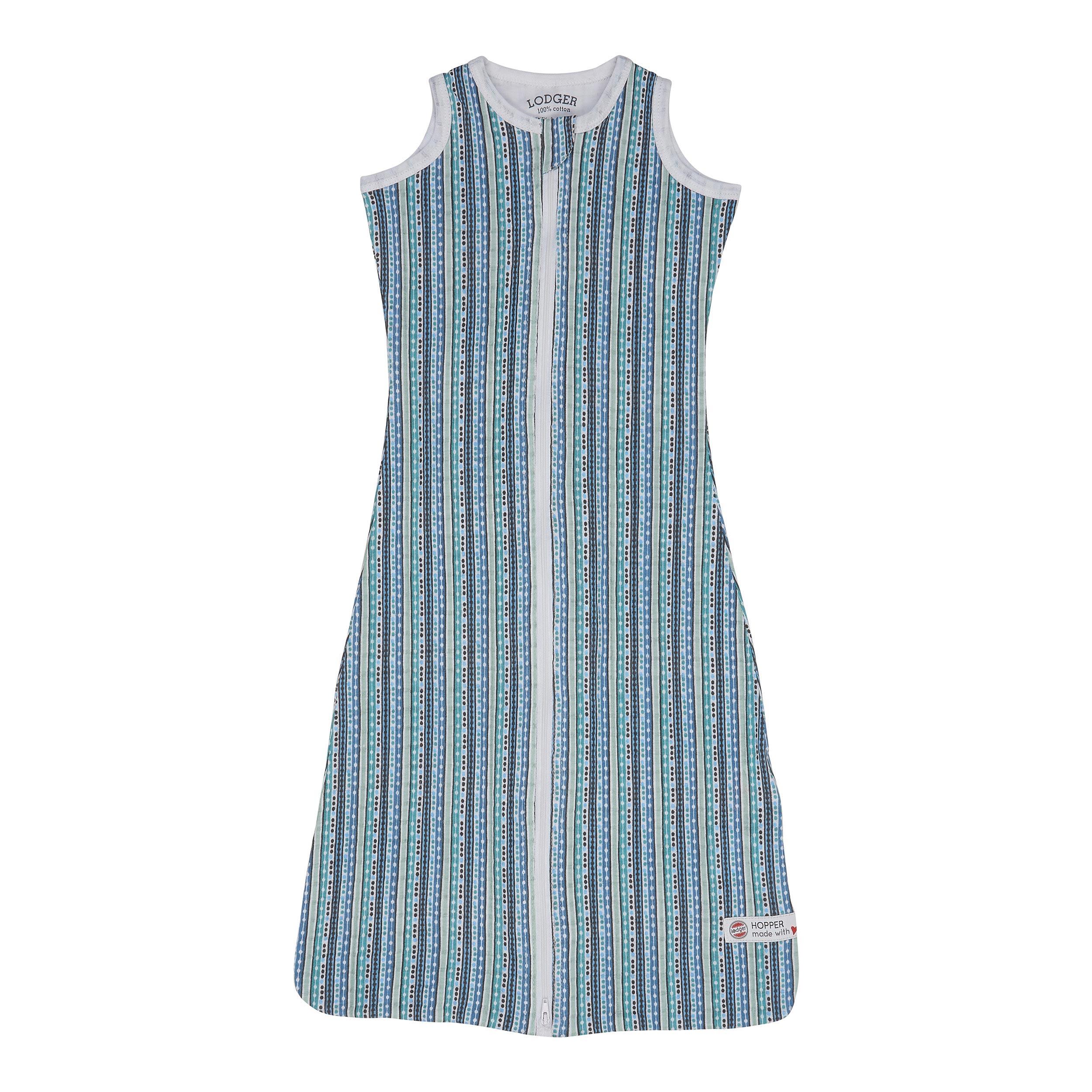 newest 65268 2b3d2 Hopper Sleeveless printed summer sleeping bag with 0.5 TOG