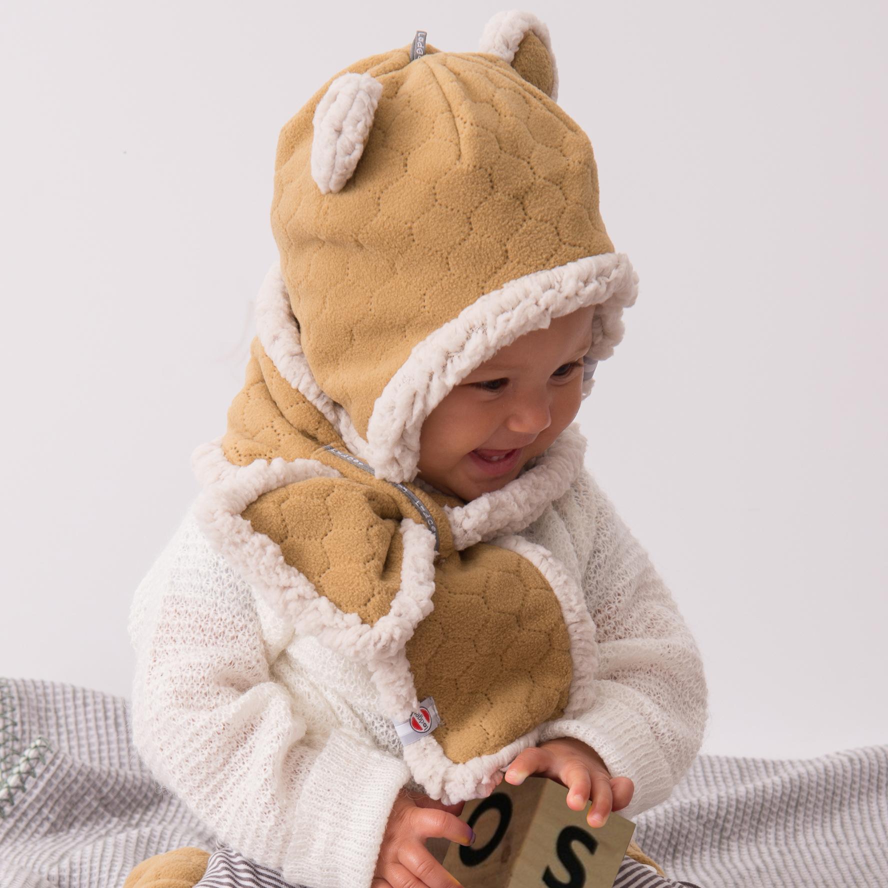 Inne rodzaje Lodger Muffler to polarowy szalik dla niemowlaków w wieku 0-12 JG82