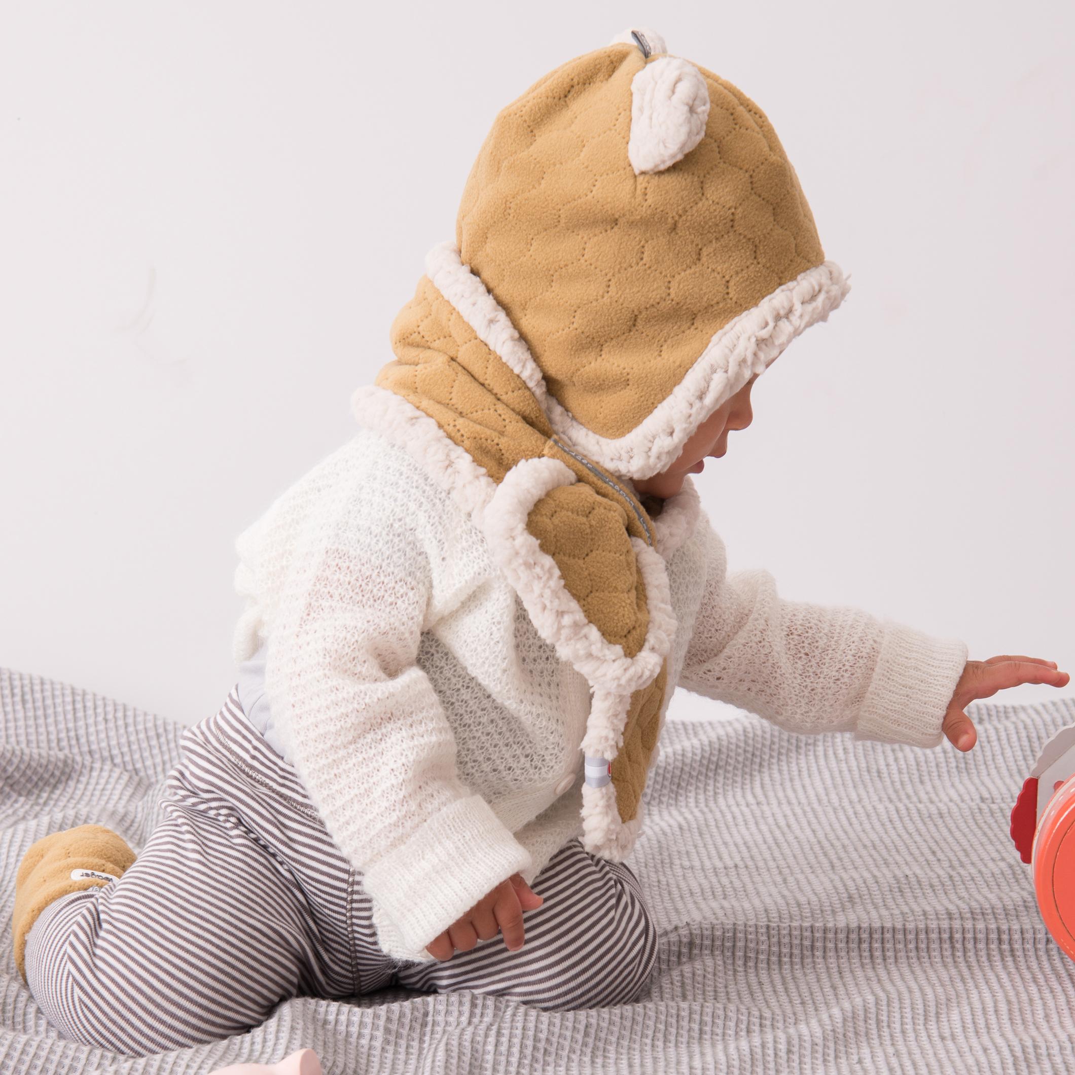 Świeże Lodger Muffler to polarowy szalik dla niemowlaków w wieku 0-12 IL19
