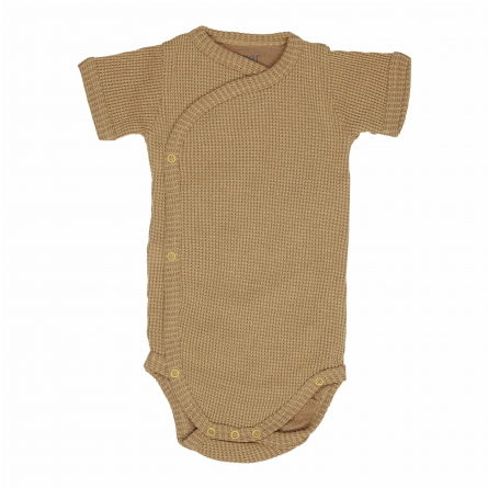 Short sleeve wrap baby bodysuit
