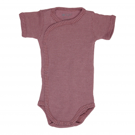 Wrap-around baby bodysuit