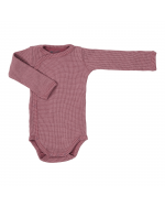 Long sleeve wrap around baby bodysuit