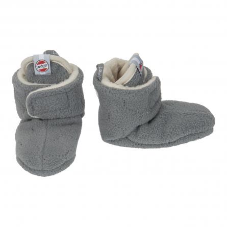 fleece velcro baby booties