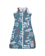 Summer sleeping bag with print