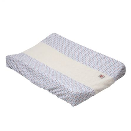 Changing pad cover with print