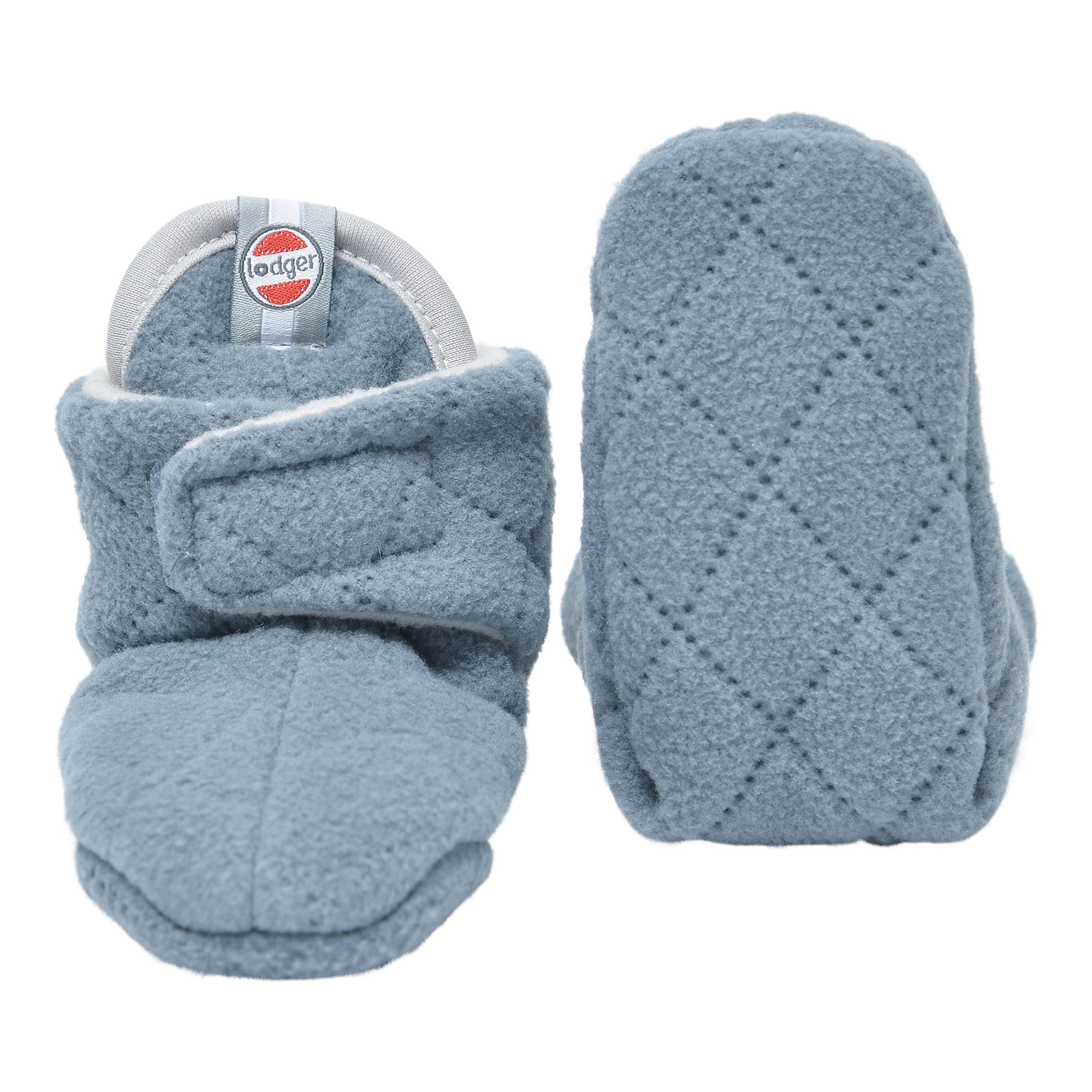 5e819a705c6a6 Lodger Slipper, fleece lined baby slippers with grip soles for 0-18 months