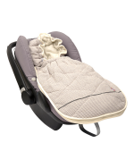 Car seat footmuff cotton