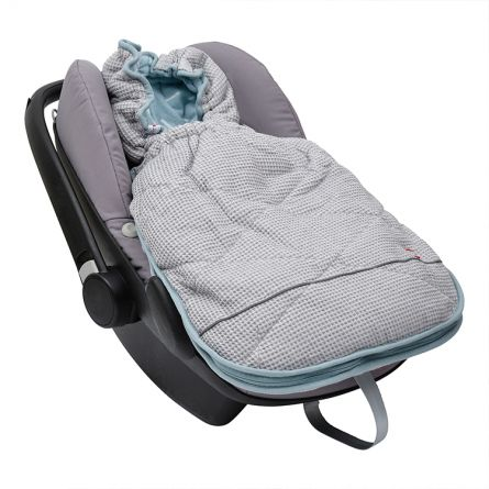 Car seat footmuff Honeycomb